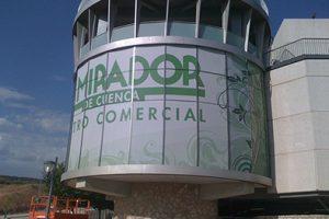 Vinilo Microperforado Centro Comercial el Mirador